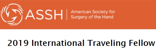 2019 ASSH International Traveling Fellowship